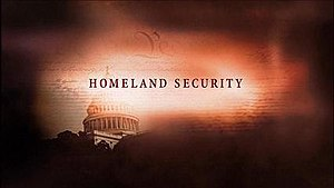 Homeland Security (film) - Title screen