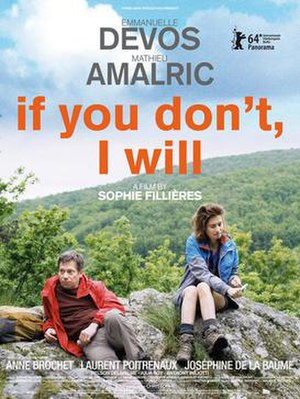 If You Don't, I Will - Theatrical release poster