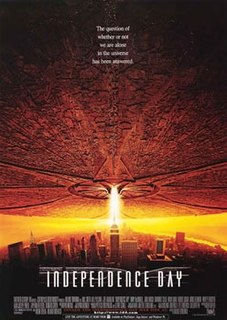 <i>Independence Day</i> (1996 film) 1996 US science fiction film directed by Roland Emmerich.