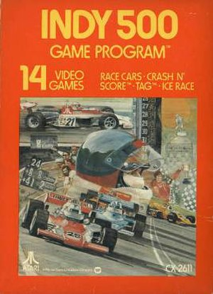 Indy 500 (1977 video game) - Image: Indy 500 Cover
