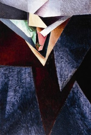 Jacques Villon - Jacques Villon, 1914, Portrait de M. J. B. peintre (Jacques Bon), oil on canvas, 121.92 x 81.28 cm, Columbus Museum of Art