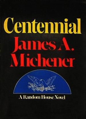 Centennial (novel) - First edition cover