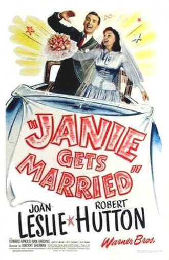 Janie Gets Married - Theatrical release poster