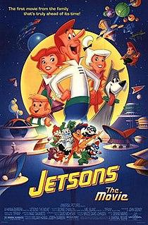 <i>Jetsons: The Movie</i> 1990 film by Joseph Barbera, William Hanna