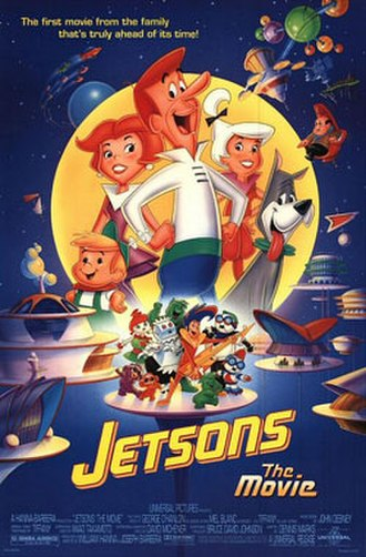 Jetsons: The Movie - Theatrical release poster