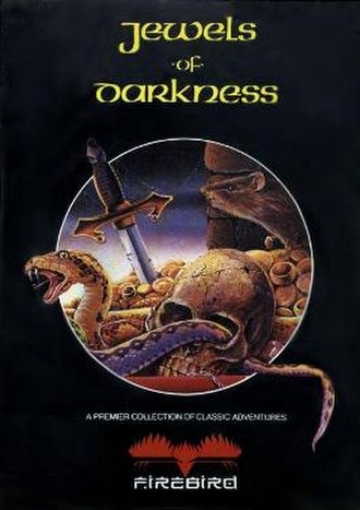 Jewels of Darkness - MS-DOS Cover art