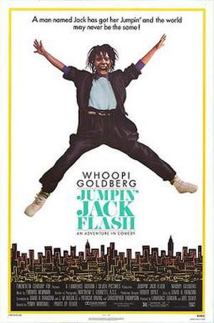 Jumpin' Jack Flash (film) - Theatrical release poster