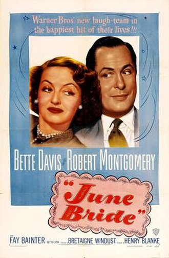 June Bride - Theatrical release poster