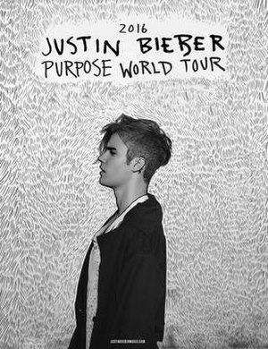 Purpose World Tour - Image: Justin Bieber Purpose Tour Poster