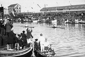 John B. Kelly Sr. - Kelly v. Beresford, 1920 Olympics