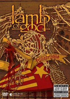 <i>Killadelphia</i> (video album) 2005 video by Lamb of God