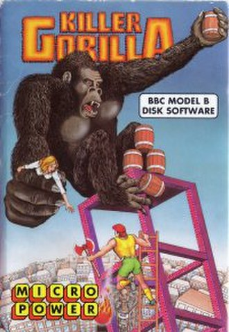 Killer Gorilla - Image: Killer Gorilla disk