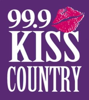 WKSF - Image: Kiss Country Logo
