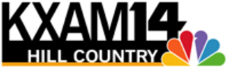 KBVO (TV) - KXAM-TV logo used from the 1990s until 2007, based on then-parent station KXAN-TV's logo.