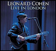 leonard cohen live in london