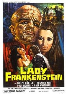 <i>Lady Frankenstein</i> 1971 film by Mel Welles