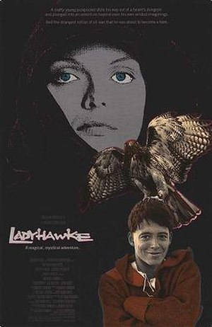 Ladyhawke (film) - Theatrical release poster