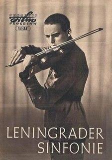 <i>Leningrad Symphony</i> (film) 1957 film