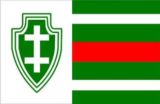 Lithuanian Riflemen's Union - Flag of the Lithuanian Riflemen's Union