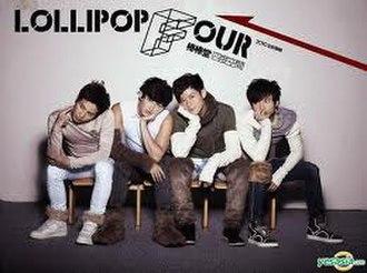 Four Dimensions (Lollipop F album) - Image: Lollipop F(album cover)