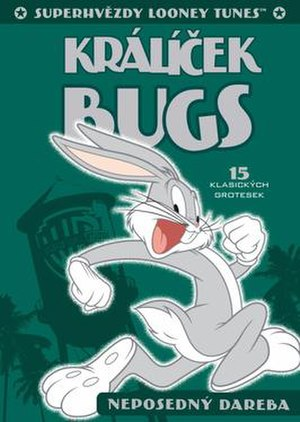 Looney Tunes Super Stars' Bugs Bunny: Wascally Wabbit - DVD-cover