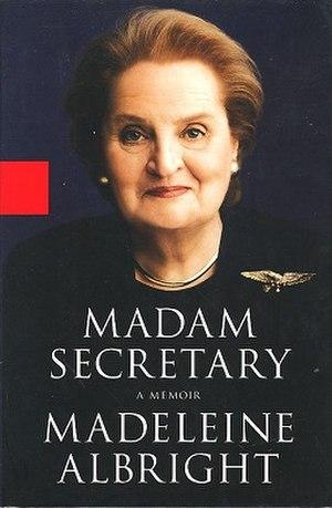 Madam Secretary (book) - Image: Madam Secretary