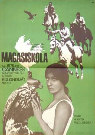 The Falcons (film) - Image: Magasiskola 1970 Hungarian film