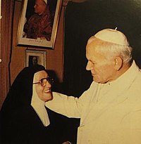 Margherita Maria Guaini and JP II.jpg