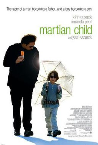 Martian Child - Theatrical release poster