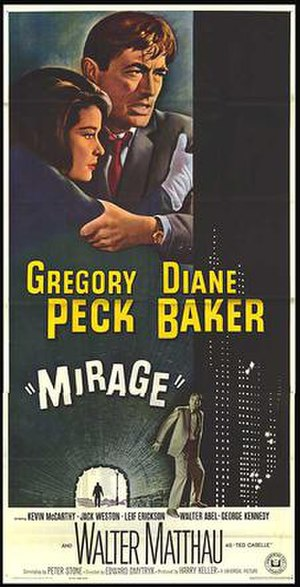 Mirage (1965 film) - Theatrical release poster