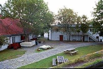 Munkholmen - Image: Munkholmen Courtyard