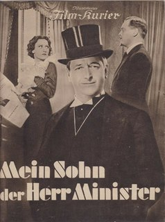 <i>My Son the Minister</i> 1937 film by Veit Harlan