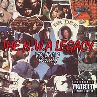 The N.W.A Legacy, Vol. 1: 1988–1998 - Image: N.w.a 1