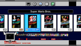 NES Classic Edition - Menu of the Nintendo Classic Mini: Nintendo Entertainment System