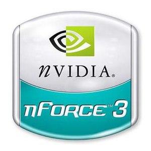NForce3 - Nvidia nForce3 logo