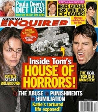 National Enquirer - Image: National Enquirer (cover)