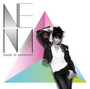 Made in Germany (Nena album) - Image: Nena Made In Germany