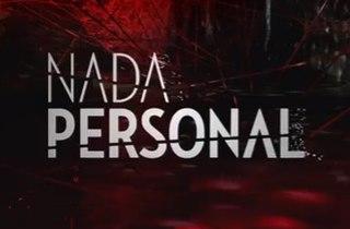 <i>Nada personal</i> (2017 TV series)