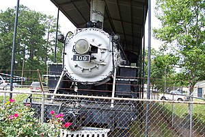 Sylvester, Georgia - Ole Engine 100 - front