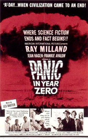 Panic in Year Zero! - Theatrical release poster