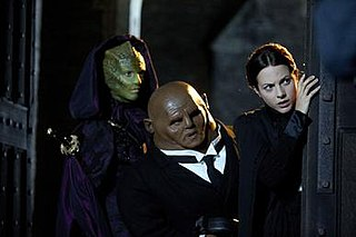 Madame Vastra, Jenny Flint, and Strax