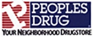 Peoples Drug - Final Peoples Drug logo (late 1980s-mid 1990s) before conversion to CVS name