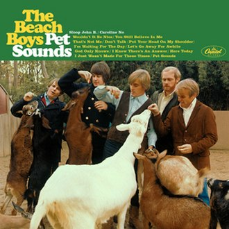 Pet Sounds - Image: Pet Sounds Cover