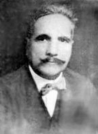 1936 in poetry - Muhammad Iqbal