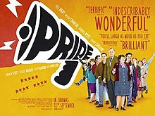 Poster for 2014 historical dramedy Pride
