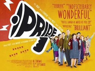 <i>Pride</i> (2014 film) 2014 British LGBT-related historical comedy-drama film by Matthew Warchus