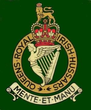 Queen's Royal Irish Hussars - Image: Qrih Badge