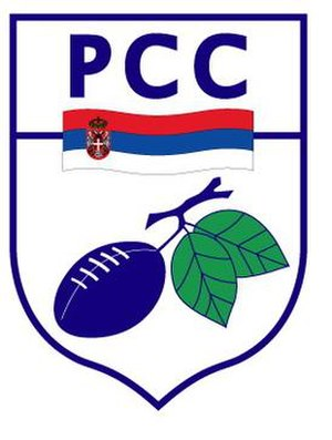 Serbia national rugby union team - Image: Ragbi savez Srbije logo