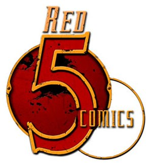 Red 5 Comics - Image: Red 5Comics Logo