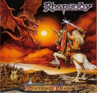 <i>Legendary Tales</i> 1997 studio album by Rhapsody